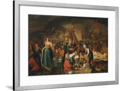 The Witches' Kitchen, Early 17th C-Frans Francken the Younger-Framed Giclee Print