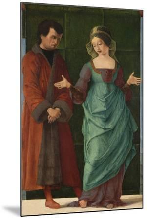 Portia and Brutus-Ercole de' Roberti-Mounted Giclee Print