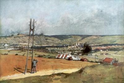 The Forts of Chaume, Verdun, France, March 19, 1916--Framed Giclee Print