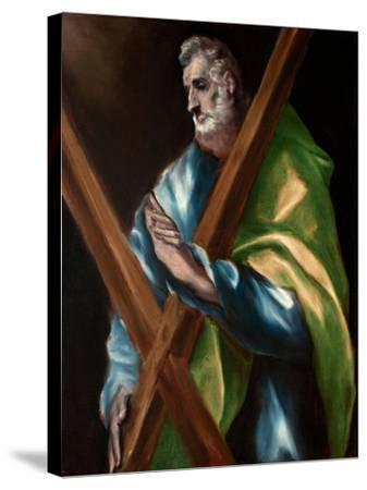 Saint Andrew-El Greco-Stretched Canvas Print