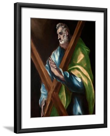 Saint Andrew-El Greco-Framed Giclee Print
