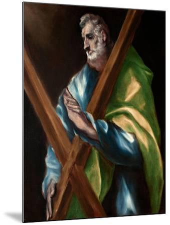Saint Andrew-El Greco-Mounted Giclee Print