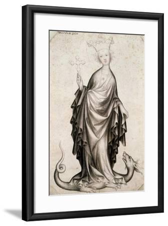 St Margaret, 15th Century--Framed Giclee Print