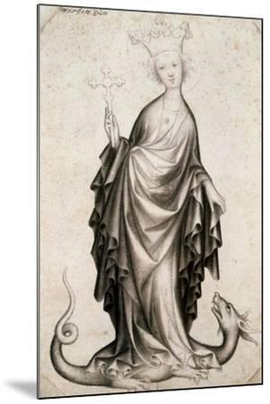 St Margaret, 15th Century--Mounted Giclee Print