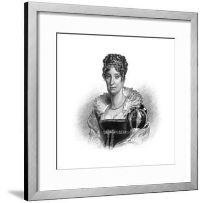 Maria Amalia of the Two Sicilies, Consort to King Louis-Philippe, 1830-Dean -Framed Giclee Print
