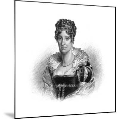 Maria Amalia of the Two Sicilies, Consort to King Louis-Philippe, 1830-Dean -Mounted Giclee Print