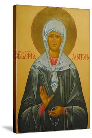 Saint Matrona of Moscow, 20th Century--Stretched Canvas Print