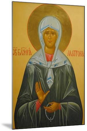 Saint Matrona of Moscow, 20th Century--Mounted Giclee Print