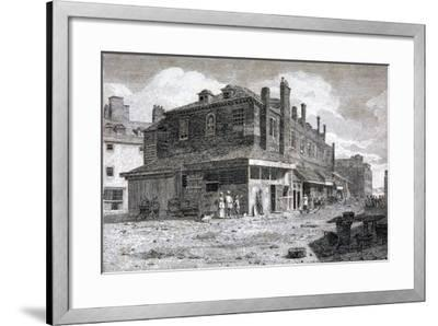 View of Hungerford Market, Westminster, London, C1805--Framed Giclee Print