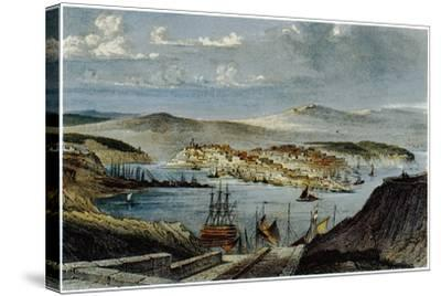 View of Sevastopol, C. 1850--Stretched Canvas Print