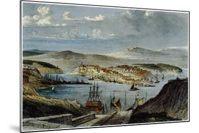 View of Sevastopol, C. 1850--Mounted Giclee Print