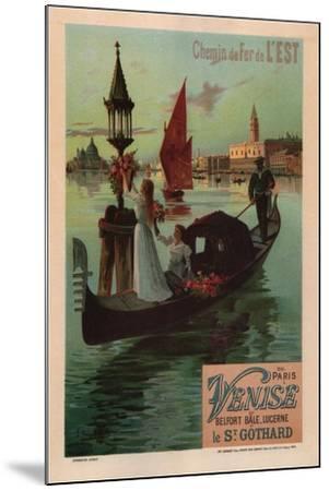 Chemins De Fer De L'Est, 1890-Frédéric Hugo d'Alesi-Mounted Giclee Print