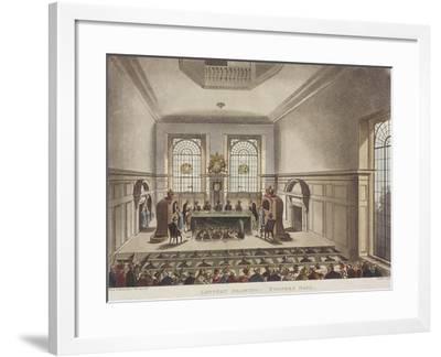 Apothecaries' Hall, London, C1780-John Carter-Framed Giclee Print