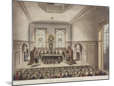 Apothecaries' Hall, London, C1780-John Carter-Mounted Giclee Print