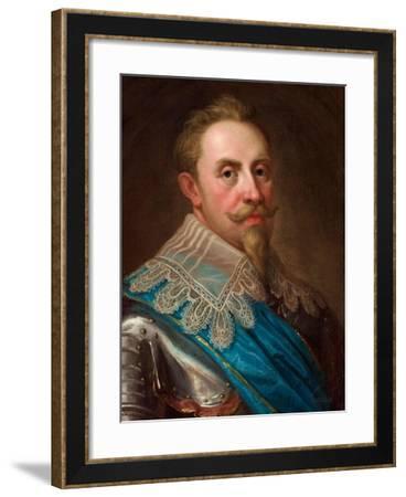 Gustavus Adolphus of Sweden-Lorenz II Pasch-Framed Giclee Print