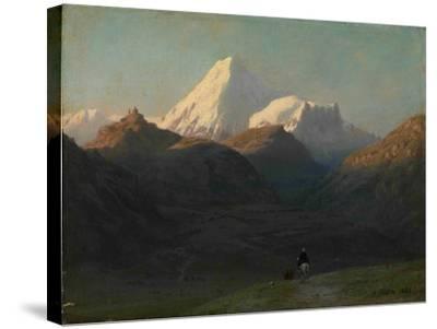 Mountain Landscape, 1868-Lev Felixovich Lagorio-Stretched Canvas Print