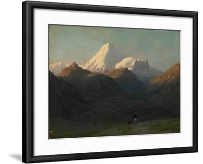 Mountain Landscape, 1868-Lev Felixovich Lagorio-Framed Giclee Print
