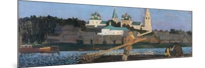 On the Volga, 1906-Boris Michaylovich Kustodiev-Mounted Giclee Print