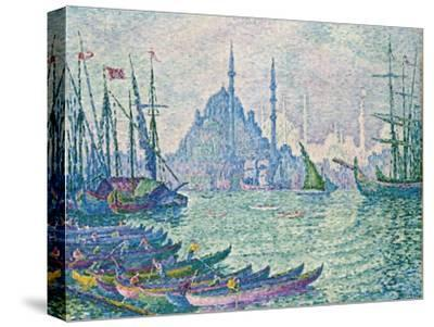 The Golden Horn, Minarets, 1907-Paul Signac-Stretched Canvas Print