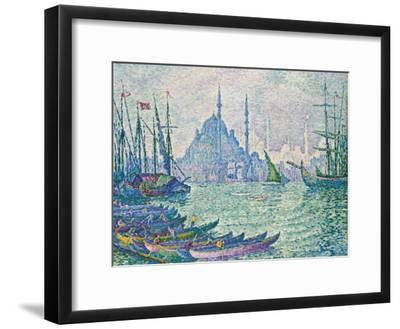 The Golden Horn, Minarets, 1907-Paul Signac-Framed Giclee Print