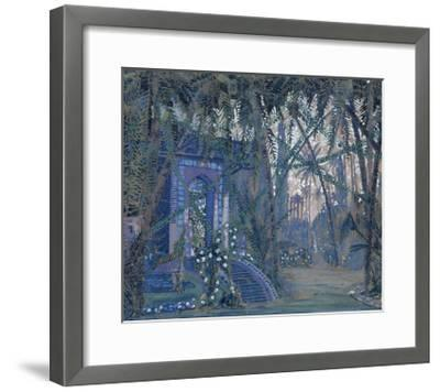 Summerhouse in the Park, 1910-Alexey Alexandrovich Utkin-Framed Giclee Print