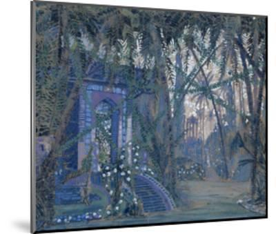 Summerhouse in the Park, 1910-Alexey Alexandrovich Utkin-Mounted Giclee Print