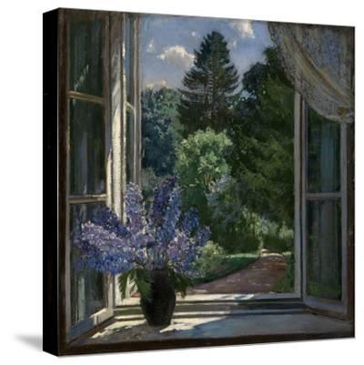 View from a Window, 1939-Stanislav Yulianovich Zhukovsky-Stretched Canvas Print