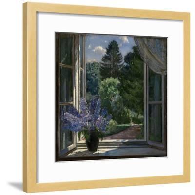 View from a Window, 1939-Stanislav Yulianovich Zhukovsky-Framed Premium Giclee Print