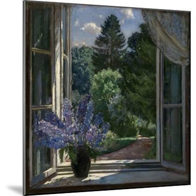 View from a Window, 1939-Stanislav Yulianovich Zhukovsky-Mounted Premium Giclee Print
