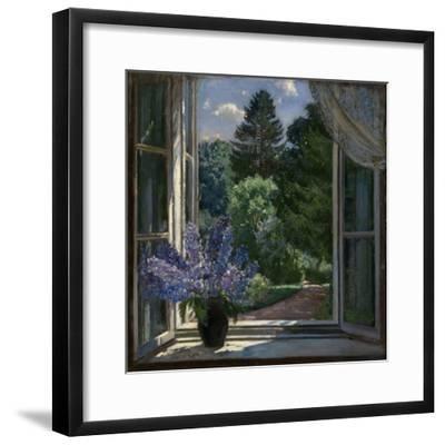 View from a Window, 1939-Stanislav Yulianovich Zhukovsky-Framed Giclee Print