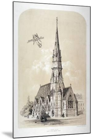 St Silas' Church, Penton Street, Finsbury, London, C1867-Day & Son-Mounted Giclee Print
