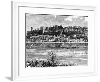 Chinon and the Vienne River, France, 19th Century-Taylor-Framed Giclee Print