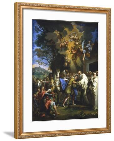 Entry of St Bernard into the City, C1630-1679--Framed Giclee Print