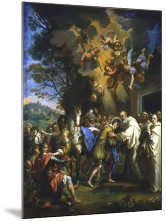 Entry of St Bernard into the City, C1630-1679--Mounted Giclee Print