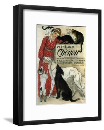 Clinique Chéron, 1905-Th?ophile Alexandre Steinlen-Framed Giclee Print