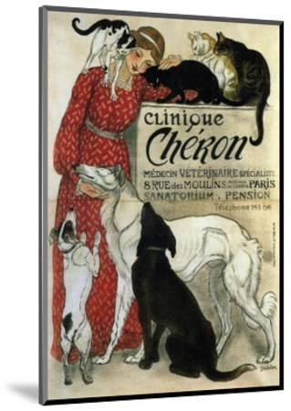 Clinique Chéron, 1905-Th?ophile Alexandre Steinlen-Mounted Giclee Print