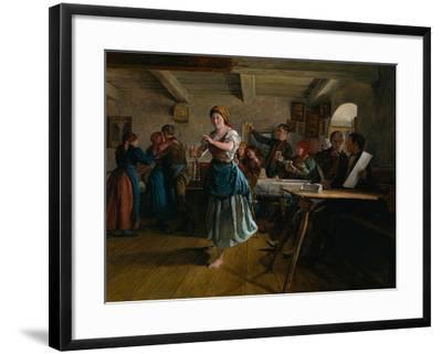 The Opening Dance, 1863-Ferdinand Georg Waldm?ller-Framed Giclee Print