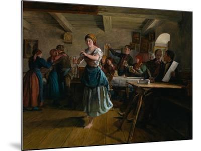 The Opening Dance, 1863-Ferdinand Georg Waldm?ller-Mounted Giclee Print