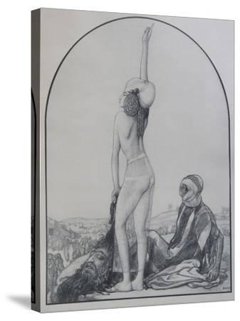 Judith of Bethulia-L?on Bakst-Stretched Canvas Print