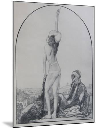 Judith of Bethulia-L?on Bakst-Mounted Giclee Print