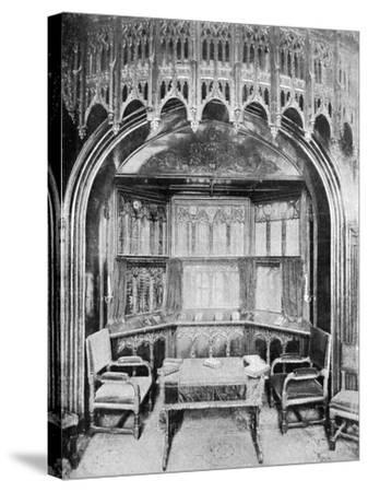 Queen Victoria's Pew in St George's Chapel, Windsor, 1901-Eyre & Spottiswoode-Stretched Canvas Print