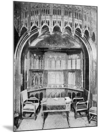Queen Victoria's Pew in St George's Chapel, Windsor, 1901-Eyre & Spottiswoode-Mounted Giclee Print