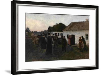 Returning Home, 1876-1877-Ilya Yefimovich Repin-Framed Giclee Print