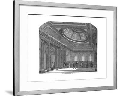 Telling Room, National Bank of Scotland, Glasgow, C1860--Framed Giclee Print