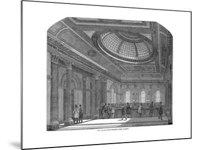 Telling Room, National Bank of Scotland, Glasgow, C1860--Mounted Giclee Print