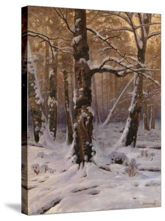 Winter Morning, 1907-1909-Gevorg Bashindzhagyan-Stretched Canvas Print