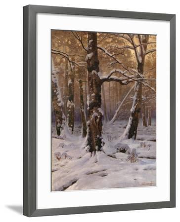 Winter Morning, 1907-1909-Gevorg Bashindzhagyan-Framed Giclee Print