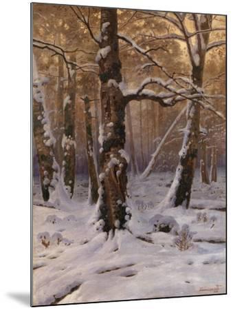 Winter Morning, 1907-1909-Gevorg Bashindzhagyan-Mounted Giclee Print