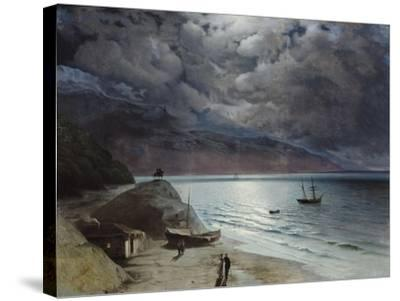 Night at Gurzuf, 1891-Ivan Konstantinovich Aivazovsky-Stretched Canvas Print