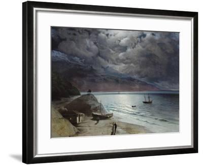 Night at Gurzuf, 1891-Ivan Konstantinovich Aivazovsky-Framed Giclee Print